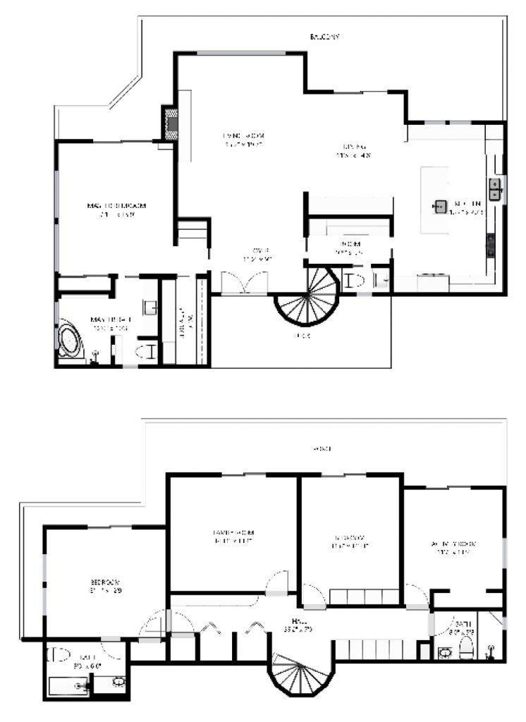 Schematic Floor Plans - Virtualize It